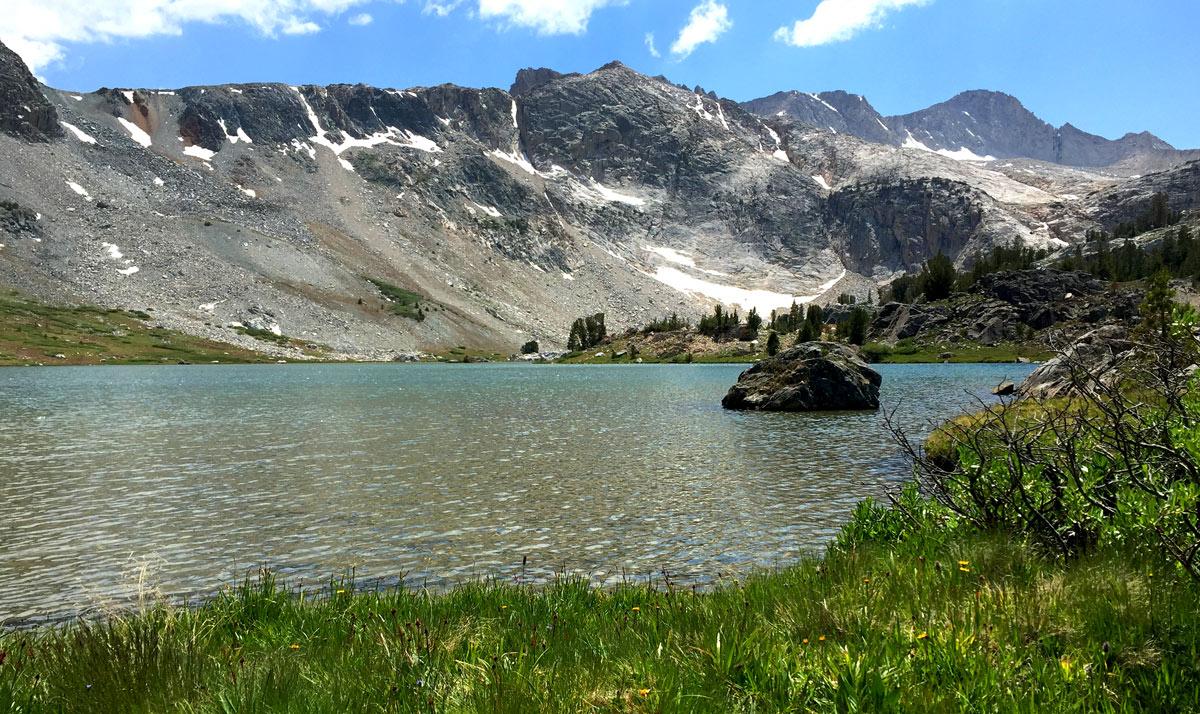 Greenstone Lake Mono County Hoover Wilderness