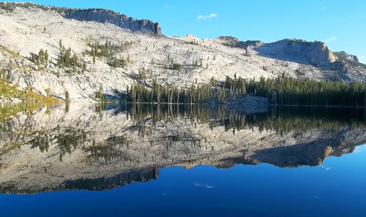 May Lake Mariposa County Yosemite Wilderness