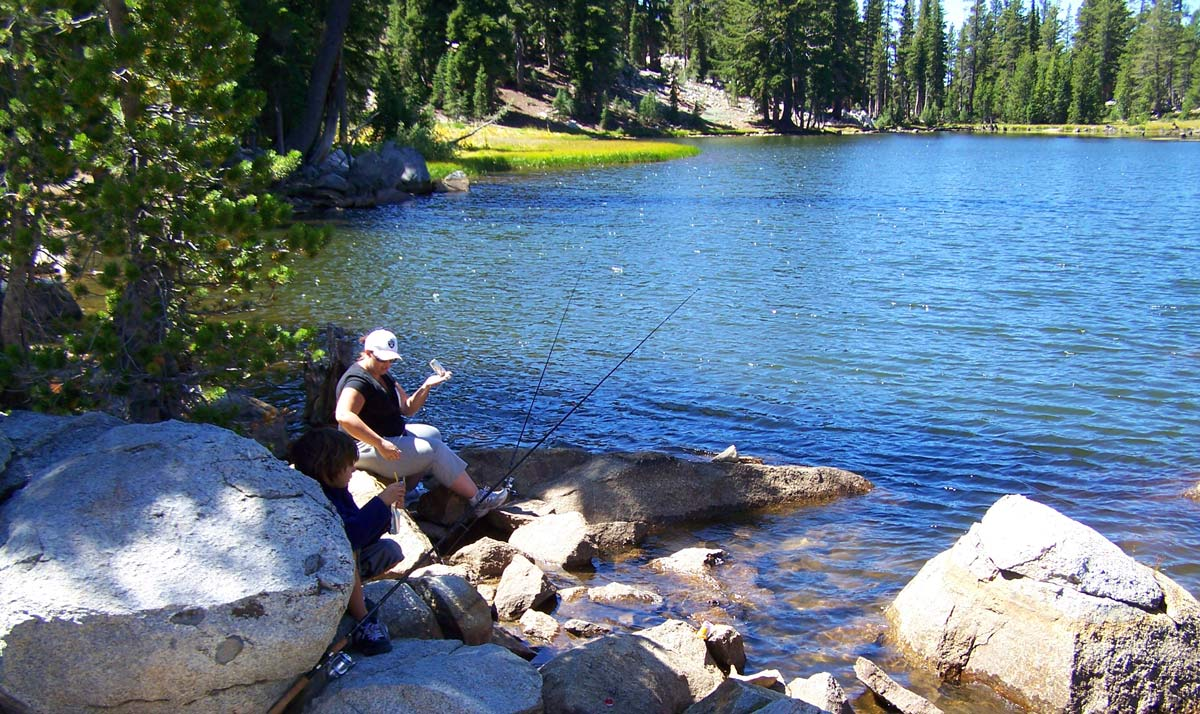 Mosquito lakes alpine county stanislaus national forest for Mosquito lake fishing